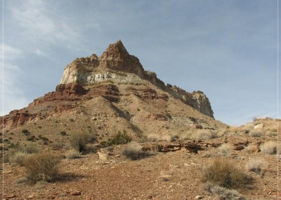 Temple Mountain Trail in Utah