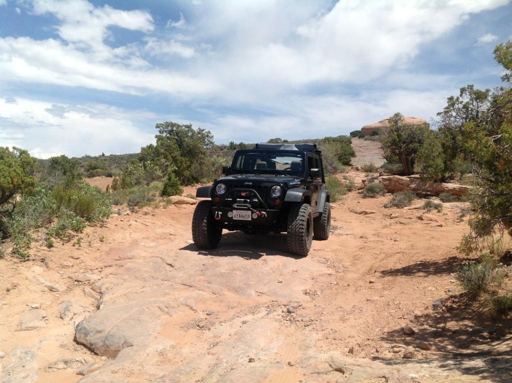 TV Towers Jeep Trail Utah