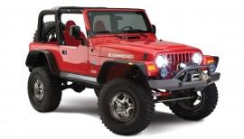 Bushwacker Fender Flares On Jeep
